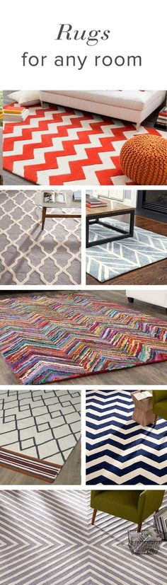 Roll out the best when it comes to your home. Rugs are an easy way to update any room, whether it's a touch of texture or a pop of color and pattern. Shop AllModern today and sign up for exclusive deals on rugs at up to 65% off every day.