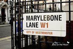 Londres Marylebone lane london shopping