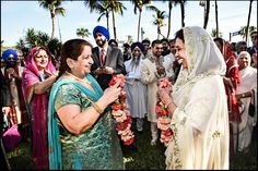 Two families become one.  #indianwedding #rocking #miamiphotographer