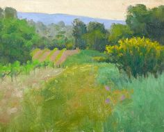 "Below Auban - Oil on canvas, 8"" x 10"""