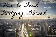 How to fund studying abroad for a Masters