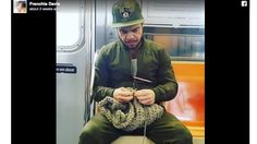 Oh, It's Knit: Singer Frenchie Davis Helps Brooklyn, NY, Man's Business Take Off After Snapping His Picture