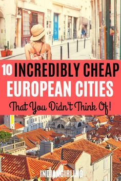 Traveling to Europe doesn't need to be expensive. Here's 10 super cheap countries in Europe that you can easily travel on a student or limited budget. Includes: budgeting guides, where to stay, top things to do and how much each destination costs! Cheap European Cities, Cities In Europe, Europe Destinations, European Travel, Travel Europe Cheap, Budget Travel, Europe Packing, Backpacking Europe, Packing Lists