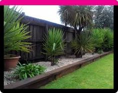 garden bed retaining wall - Google Search