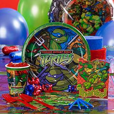 Order Teenage Mutant Ninja Turtles Party Supplies at discount prices
