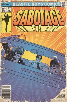 Beastie Boys as Comic Book - Derek Langille: FOR ADAM
