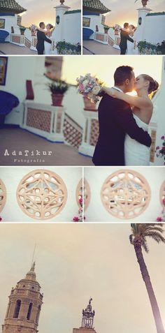 Boda en Palau Maricel de Sitges. Wedding Sitges http://adatikur.com Fotografia creativa, bodas y familiar.