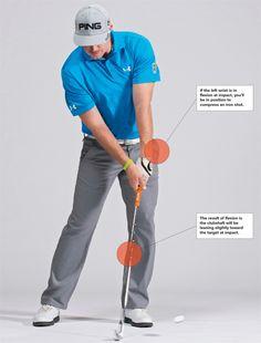 Golf Swing Perfect Sean Foley: One Move To Better Accuracy - Golf Digest - Use Hunter Mahan's ball-striking keys to get sharp. Golf 7 R, Play Golf, Disc Golf, Golf Card Game, Dubai Golf, Golf Stance, Golf Putting Tips, Golf Practice, Miniature Golf