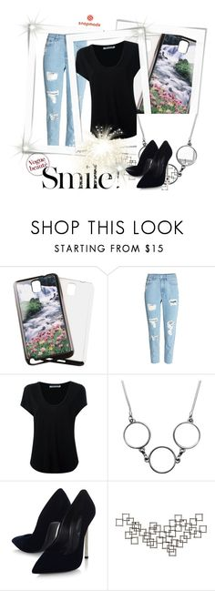 """SNAPMADE 17"" by anidahadzic ❤ liked on Polyvore featuring Samsung, Alexander Wang, Casadei and Crate and Barrel"