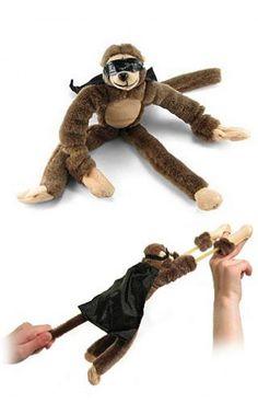 Flying Monkey Screaming Slingshot