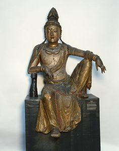 Statue of Guanyin at the University of Pennsylvania Museum of Archeology and Anthropology in Philadelphia. (Credit: Courtesy Penn Museum)