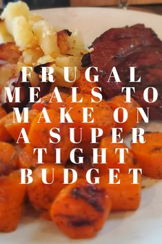 Meals to make when you are on a Super Tight Budget Cheap and quick meal ideas for those on a super tight budget.Cheap and quick meal ideas for those on a super tight budget. Budget Meal Prep, Budget Freezer Meals, Cooking On A Budget, Frugal Meals, Quick Meals, Budget Recipes, Food Budget, Cheap Recipes, Fast Recipes