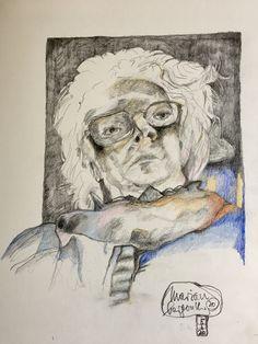 Scribble, Art Prints, Artwork, Artist, Painting, Paper, Self Portrait Drawing, Artworks, Art Print