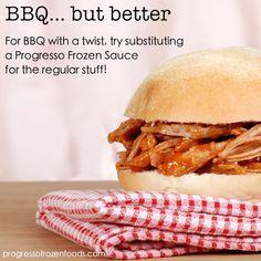 BBQ Sandwich with a twist!