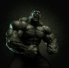 Hulk by on DeviantArt Marvel Comics Art, Marvel Heroes, Marvel Avengers, Avengers Series, Comic Book Characters, Marvel Characters, Comic Character, Hulk Tattoo, Hulk Artwork