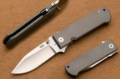 custom knives | Bob Dozier (Dozier Knives) Custom Knives - Folder, Custom knife, DK-TW ...