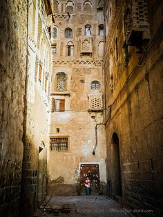 The old city of Sana'a(Yemen) - UNESCO World Heritage Site