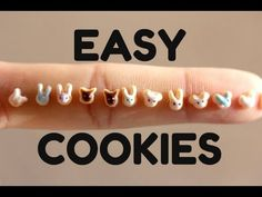 EASY Miniature Sugar Cookies || POLYMER CLAY - YouTube