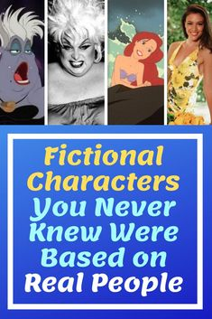 Fictional Characters You Never Knew Were Based on Real People Celebrity Film, Character Base, Sci Fi Books, You Never Know, Secret Places, Character Costumes, Celebs, Celebrities, Real People
