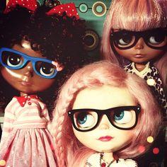 just because I love #blythe dolls . blythe a day dec. 2nd . glasses