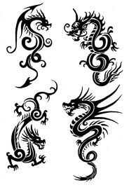 A dragon tattoo? hmmm