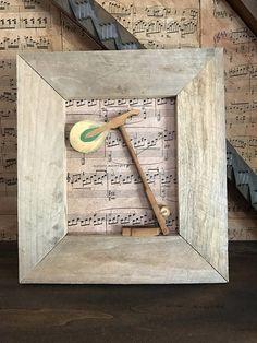 Raw Finish Framed Piano Hammer