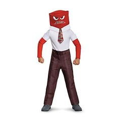 Disguise Anger Classic Child Costume, Large (10-12) ** You can get additional details at the image link.