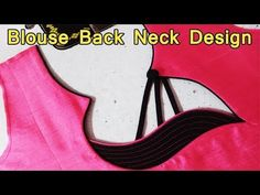 Latest and Beautiful Blouse Back Neck Design Cutting And Stitching in Hindi – dressideas Chudidhar Designs, Chudi Neck Designs, New Blouse Designs, Saree Blouse Neck Designs, Stylish Blouse Design, Dress Neck Designs, Kurti Back Neck Designs, Churidar Neck Designs, Kurta Neck Design