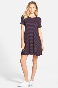 Obsessed with t-shirt dresses for hot days.