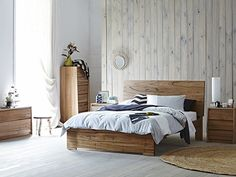 Isis Deluxe Queen Bed Frame on sale @ snooze $1,899
