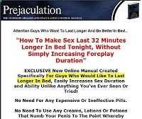 Premature Ejaculation  - Click Here to Learn How to Cure Premature Ejaculation in Men - Follow My Simple Suggestions for Curing Premature Ejaculation and You'll Last for 30 Minutes or Longer by the End of the Week!