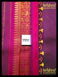 Wedding Collection: Crochet(Krosha) Tassel Kuchu from Krishne™ Saree Tassels Designs, Saree Kuchu Designs, Blouse Designs, Indie, Bollywood, Signature Design, Saree Wedding, Indian Wear, Indian Fashion