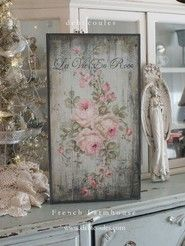 "French Farmhouse ""La Vie En Rose"" by Debi Coules"