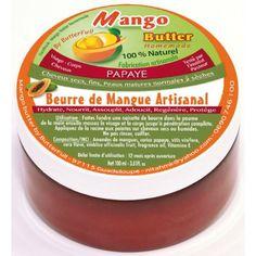 Beurre de mangue artisanal Mangue & Papaye Mango Butter 100 ml - ParaEthnik