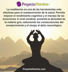 Meditación: una práctica milenaria re-descubierta en pleno siglo XXI. En nuestro artículo explicamos en qué consiste esta práctica, cuáles son sus beneficios y los pasos necesarios para practicarla correctamente. ¿Has intentado meditar alguna vez? ¿Te ha gustado? Cuéntanos ;) http://proyectohomine.com/blog/que-es-la-meditacion-y-como-podemos-utilizarla-para-mejorar-nuestra-salud/