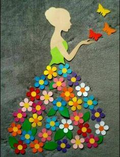 40 Easy DIY Spring Crafts Ideas for Kids - Crafts ideas 💡 Kids Crafts, Diy And Crafts, Craft Projects, Arts And Crafts, Paper Crafts, Craft Ideas, Diy Ideas, Craft Decorations, Kids Diy