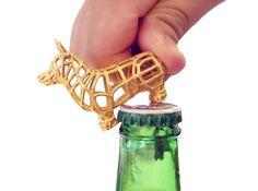 Corgi Bottle Opener Keychain 3d printed - Super cool