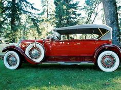 1929 Packard, Model 645 - (Packard Motor Car Company Detroit, Michigan 1899-1958)