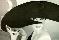 Hat by French-born milliner and fashion designer Lilly Daché (1898-1989). Protege of Suzanne Talbot. via Maggie Mowbray Millinary