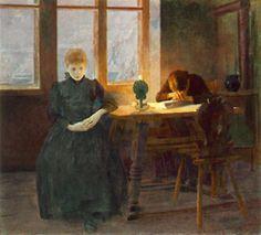 Istvan Csok, Orphans, 1891