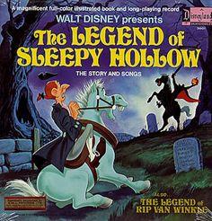 legend of sleepy hollow album storybook