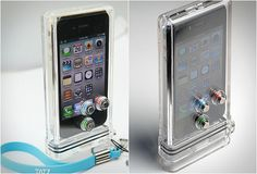 TAT7 UNDERWATER SCUBA CASE FOR APPLE IPHONE (4)
