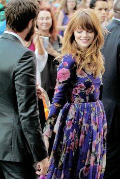 Andrew Garfield and Emma Stone---> I ship them ❥