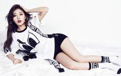 Hyuna (4MINUTE) - Photoshoot Vogue Girl mois de mai 2014 (1)