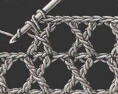 Heirloom Crochet Stitches: cane work stitch, etc