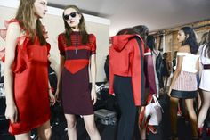 Best Backstage Candids from London Fashion Week-Spring 2015-Topshop Unique