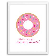 Free Printable Wall Art from @chicfetti