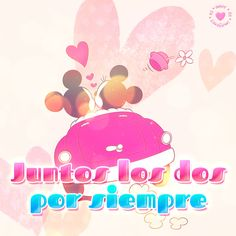 I Love You, Like Me, My Love, Mickey Y Minnie, Together Forever, Clip Art, Pink, Disney, Happy
