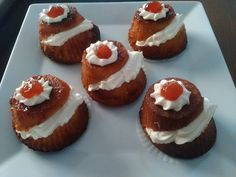 Cookbook Recipes, Dessert Recipes, Cooking Recipes, Cooking Ideas, The Kitchen Food Network, Greek Recipes, Mini Cupcakes, Food Network Recipes, Caramel