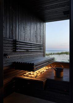 Design Hotel, Scandinavia House, Sauna House, Sauna Design, Outdoor Sauna, Backyard Buildings, Container House Design, Natural Building, Earthship
